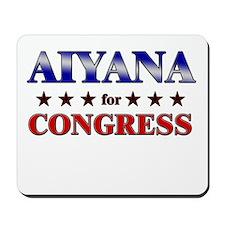 AIYANA for congress Mousepad