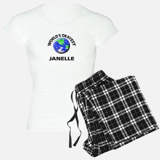 World's Okayest Janelle Pajamas