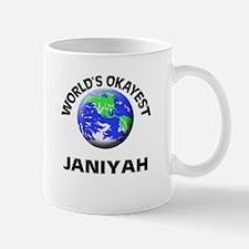 World's Okayest Janiyah Mugs
