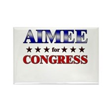 AIMEE for congress Rectangle Magnet