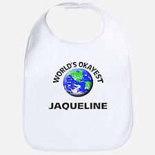 World's Okayest Jaqueline Bib