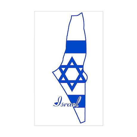 Cool Israel Rectangle Sticker