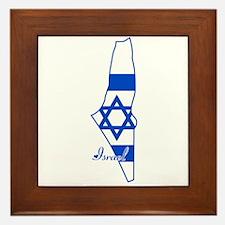 Cool Israel Framed Tile