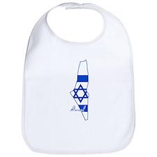 Cool Israel Bib