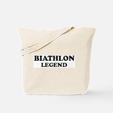 BIATHLON Legend Tote Bag