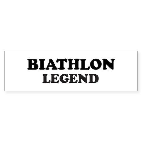 BIATHLON Legend Bumper Sticker