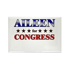 AILEEN for congress Rectangle Magnet (10 pack)