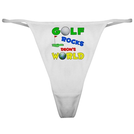 Golf Rocks Deon's World - Classic Thong