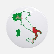 Cool Italy Ornament (Round)