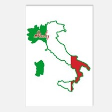 Cool Italy Postcards (Package of 8)