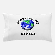 World's Okayest Jayda Pillow Case