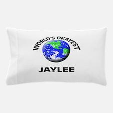 World's Okayest Jaylee Pillow Case