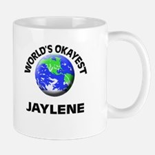 World's Okayest Jaylene Mugs