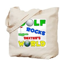 Golf Rocks Dexter's World - Tote Bag