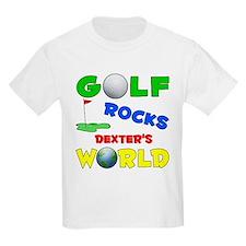 Golf Rocks Dexter's World - T-Shirt