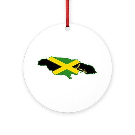 Cool Jamaica Ornament (Round)