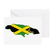 Cool Jamaica Greeting Card