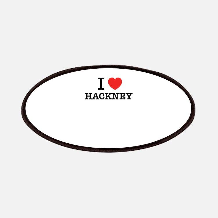 I Love HACKNEY Patch