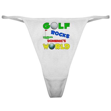 Golf Rocks Domenic's World - Classic Thong