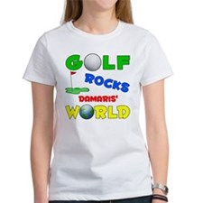 Golf Rocks Damaris' World - Tee