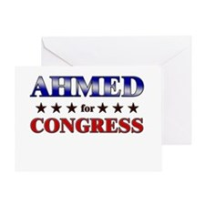 AHMED for congress Greeting Card
