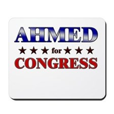 AHMED for congress Mousepad