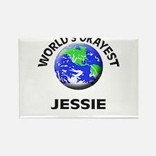 World's Okayest Jessie Magnets