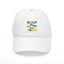 Golf Rocks Dasia's World - Baseball Cap