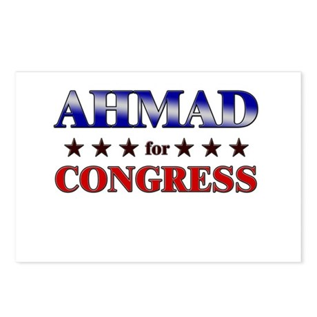 AHMAD for congress Postcards (Package of 8)