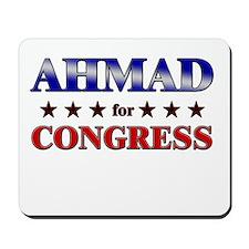 AHMAD for congress Mousepad