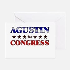 AGUSTIN for congress Greeting Card