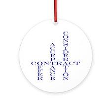 Contract Ornament (Round)
