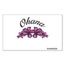 """OHANA"" Rectangle Decal"