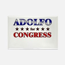 ADOLFO for congress Rectangle Magnet