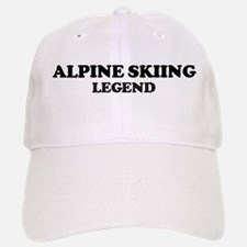 ALPINE SKIING Legend Baseball Baseball Cap