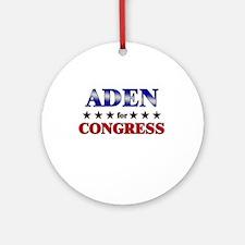 ADEN for congress Ornament (Round)