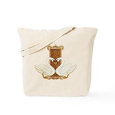 Celtic Swans Tote Bag