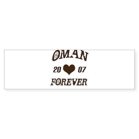 Oman Forever Bumper Sticker