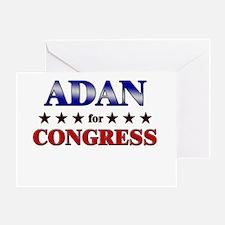 ADAN for congress Greeting Card