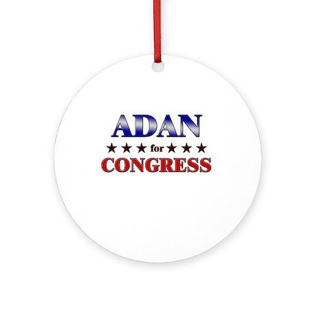 ADAN for congress Ornament (Round)
