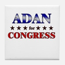 ADAN for congress Tile Coaster