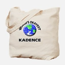 World's Okayest Kadence Tote Bag