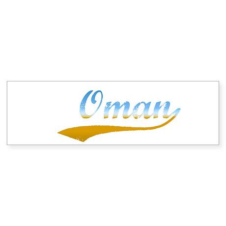 Oman Beach Bumper Sticker