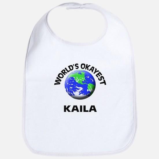 World's Okayest Kaila Bib
