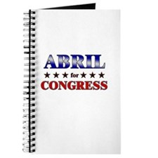 ABRIL for congress Journal