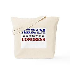 ABRAM for congress Tote Bag