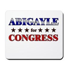 ABIGAYLE for congress Mousepad