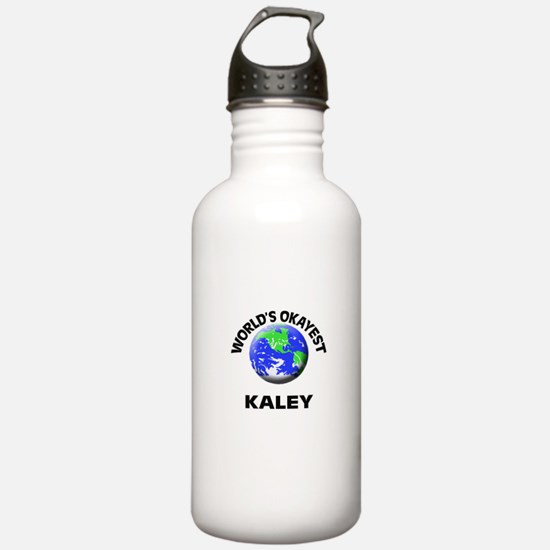 World's Okayest Kaley Sports Water Bottle