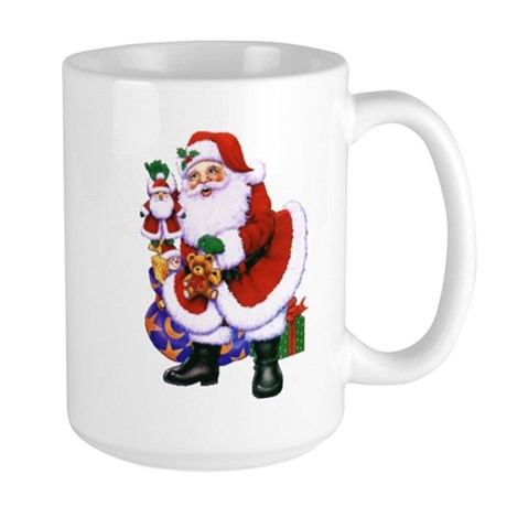 Large Santa Mug