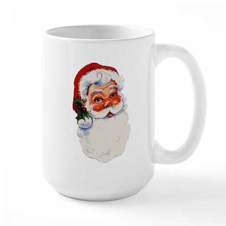 Paper Santa Large Mug